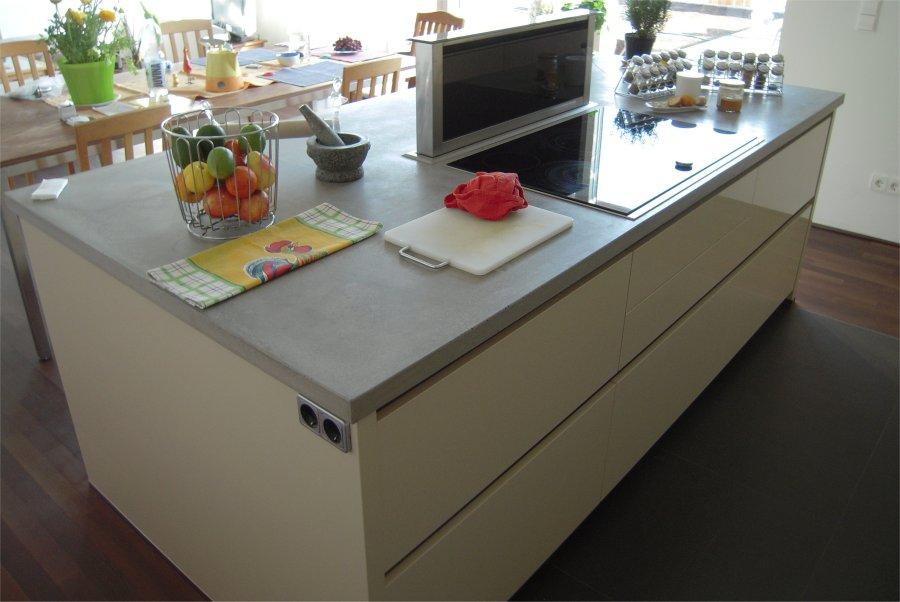 Betonarbeitsplatte Küche wohndesign benedela